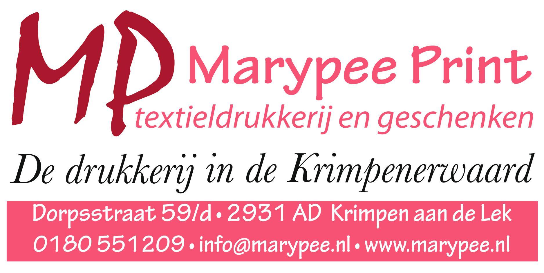 Marypee Print textieldrukkerij en geschenken